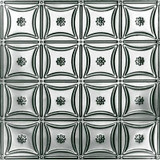 2 Feet  X 4 Feet  Steel Silver Nail-Up Ceiling Tile Design Repeat Every 6 Inches