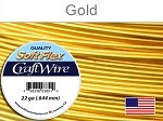 10 yds 22 ga silver plated gold Soft Flex craft wire
