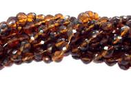 10mm Czech Tortoise-shell fire Polished Glass beads