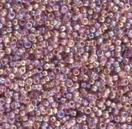 15/0 Amethyst AB Japanese Seed Beads 15 grams