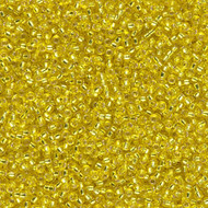 15/0 Japanese S/L Yellow Seed Beads 15 Gram