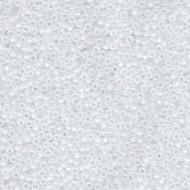 15/0 Miyuki Matte Crystal AB Beads