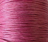 2 meters Genuine Fuchsia waxed Cotton Cord 1.mm