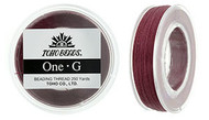 250 Yards Spool Toho One-G Thread Burgundy