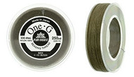250 Yards Spool Toho One-G Thread Lt Khaki