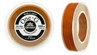 250 Yards Spool Toho One-G Thread Orange