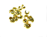 5mm Gold Plated Crimp Bead Cover