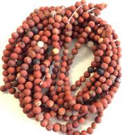 6mm matte Agate Gemstone beads