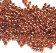 8/0 Fine Copper Metal Seed beads 10 Gram Bag