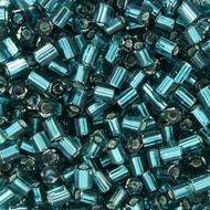 8/0 Japanese S/L Aqua Green Hex Beads 15GM