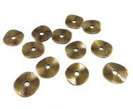 12PCS Antique Brass Washers Spacer Bead