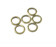 Acrylic Antique Brass plated round Closed Jump Ring 16-Gauge