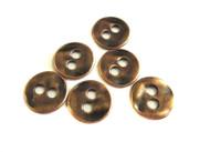 Antique Copper 2 Hole Metal Button