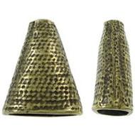 Base Metal Bead Cap Antique Gold