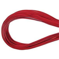 dark Red Round Leather cord 1.5mm