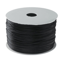 Elastic Cord 0.8mm Black Sold per 10 yards
