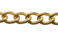Gold Plated Cable Chain