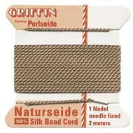 Griffin silk bead cord Beige 5