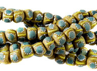 Handmade Recycled African Eye Glass African Trade Beads