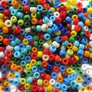 Japanese Mixed Glass Seed Beads 6/0
