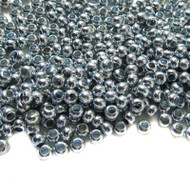Made in USA Zinc Metal Plated Seed beads 10 Gram Bag