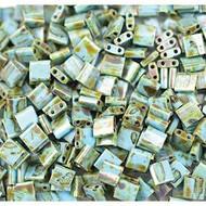 Miyuki 5mm Tila Picasso Seafoam Green Seed Beads 10 Grams