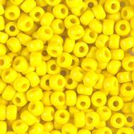 Miyuki Opaque yellow Glass Seed beads 15 Gram