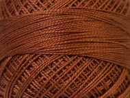 Pearl Cotton Brown #12 Beading Thread