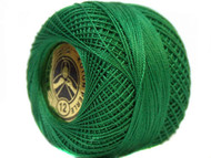 Pearl Cotton DK Ft Green #12 Beading Thread