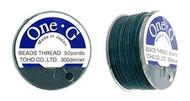 Toho One-G Thread 50 Yd Spl  Deep Green