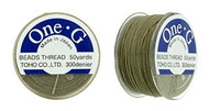 Toho One-G Thread 50 Yd Spl  Khaki
