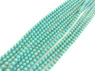 fine genuine blue green magnesite Gemstone Beads