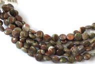 Fine Natural Rainforest agate Coin Shape Gemstone beads Beading Supplies