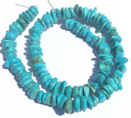 fine Blue Turquoise Chips Gemstone beads Stone beading Supplies