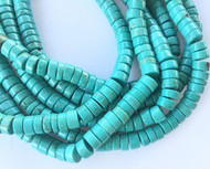 112 Fine Turquoise Heishi Gemstone beads Stone beading Supplies