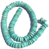 79 Fine Turquoise Heishi Gemstone beads Stone beading Supplies