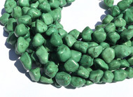 Green Turquoise Nugget Gemstone beads Stone