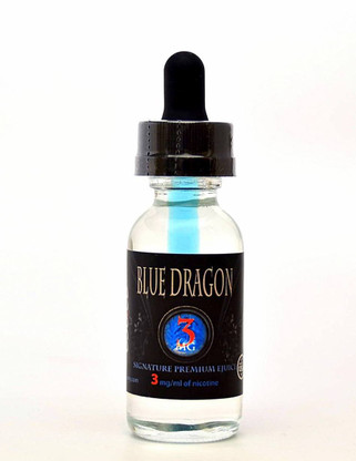 """WARNING:  If you hate menthol, YOU WILL LOVE OUR MENTHOL.  If you are a fan of it, you will find the true meanings of menthol that doesn't burn your cheeks and irritate your throat.  Our exclusive special menthol is our secret sauce for the success of this big hit.  The world famous Blue Dragon!  3in1 bottling technique to bring you: 1.  Flavor booster in the dropper, nice a pleasant berry menthol 2.  In the bottle, exotic dragon fruit blended with kiwi, berries, and a touch of refreshing menthol. 3.  Blended together to bring you the aromatic and signature flavor that made """"Blue Dragon"""" the vape famous in the industry."""