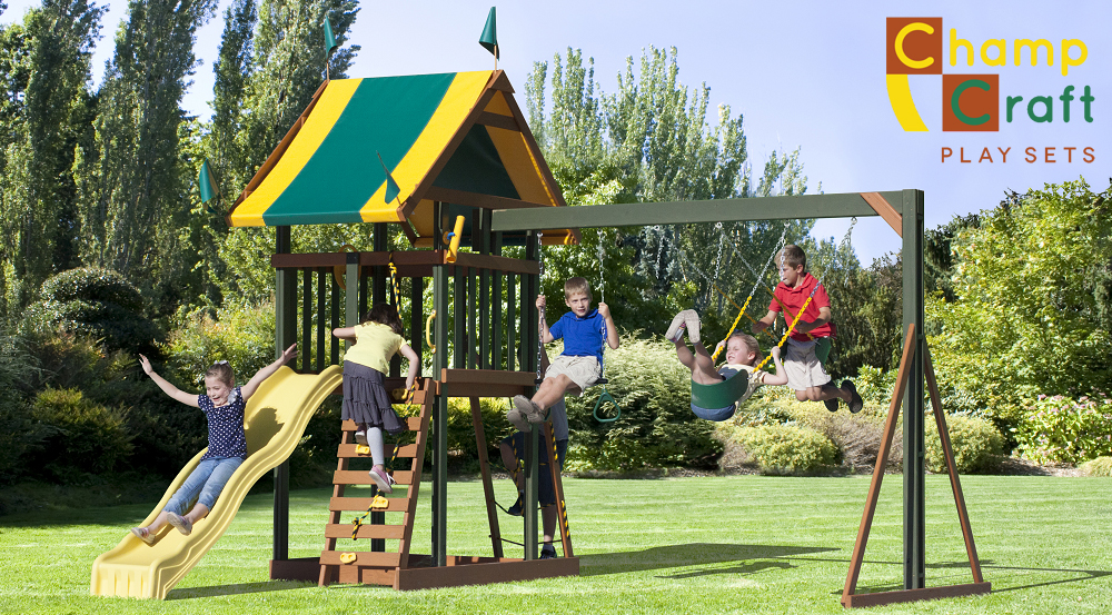 ChampCraft Wood Playsets in Ohio