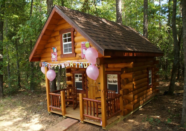 Log cabin photo gallery sunrise log cabins wayside for Log cabin home plans georgia