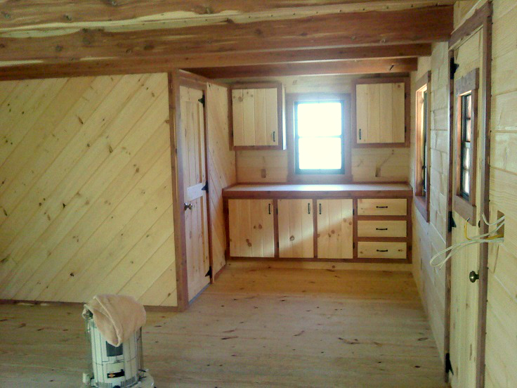 Amish Built Log Cabin to Minerva, OH