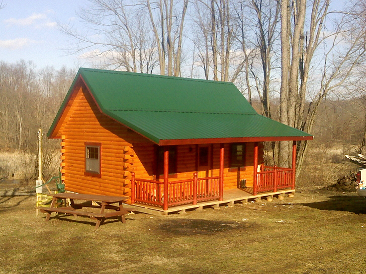 hunting cabins kits