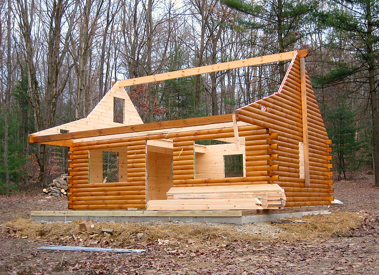 Superieur Amish Built Log Cabin To Freedom, PA