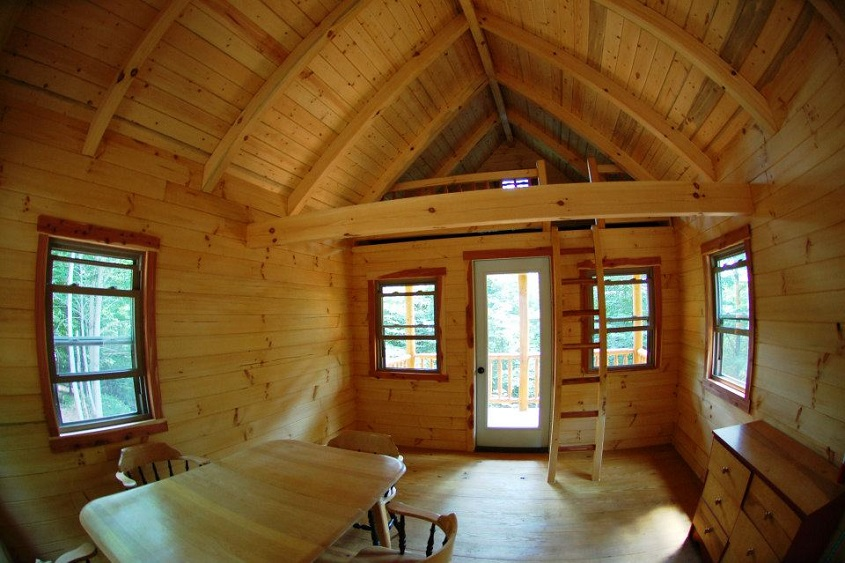 Log Cabin Photo Gallery on Pioneer Log Home Floor Plans