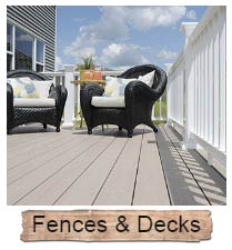 Vinyl Fence & Decking