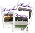 Vinyl Pergola, Railing, & Fencing Brochures