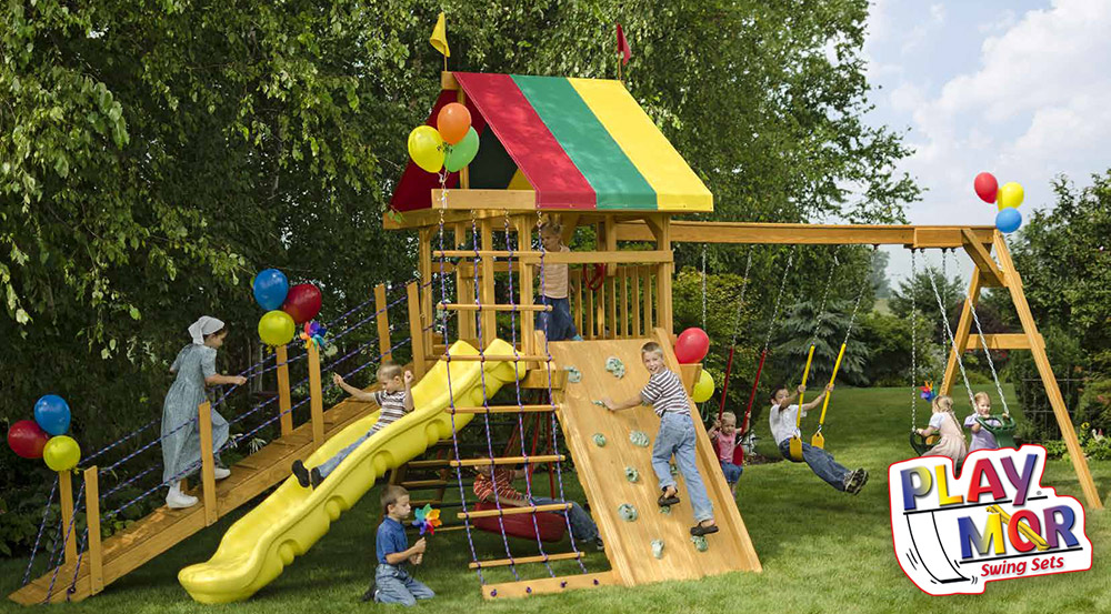 PlayMor Wooden Playsets in Ohio