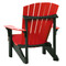 Back view of a Deluxe Adirondack Chair