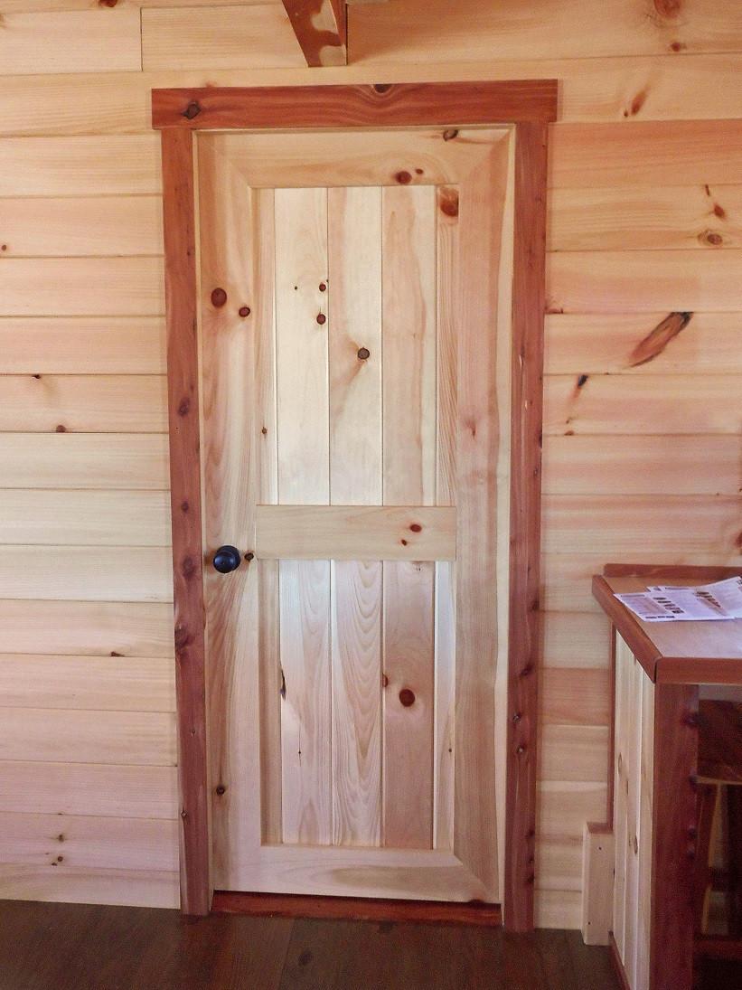 Interior door wayside lawn structures for Interior cabin doors