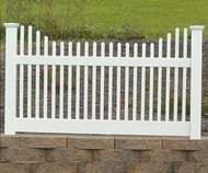 Courtyard Picket Fence